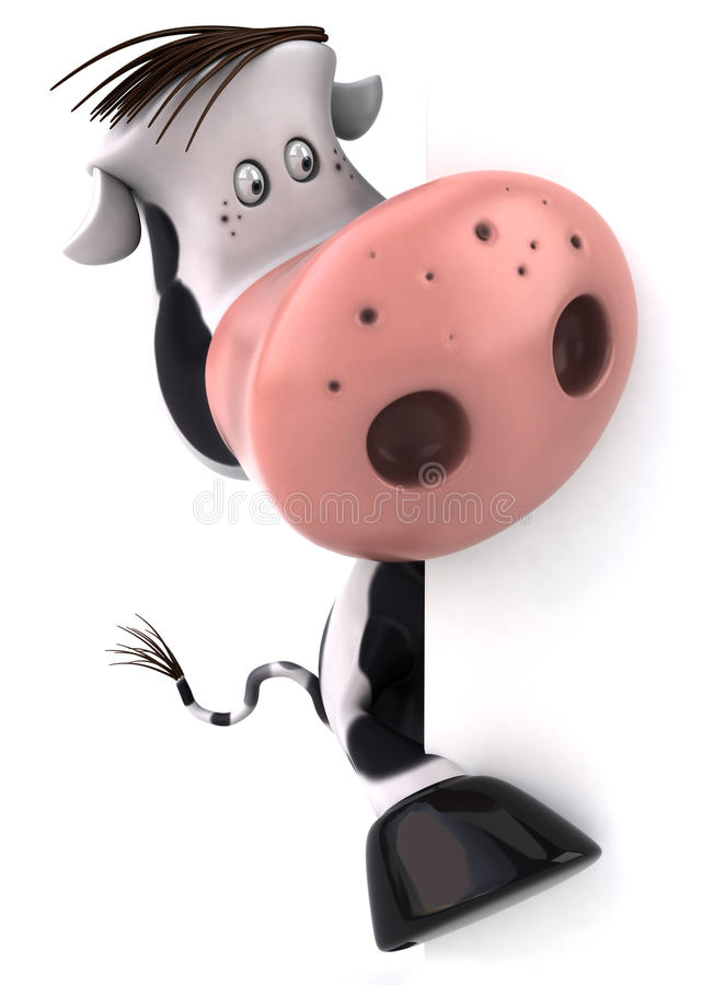 корова милая бесплатная иллюстрация