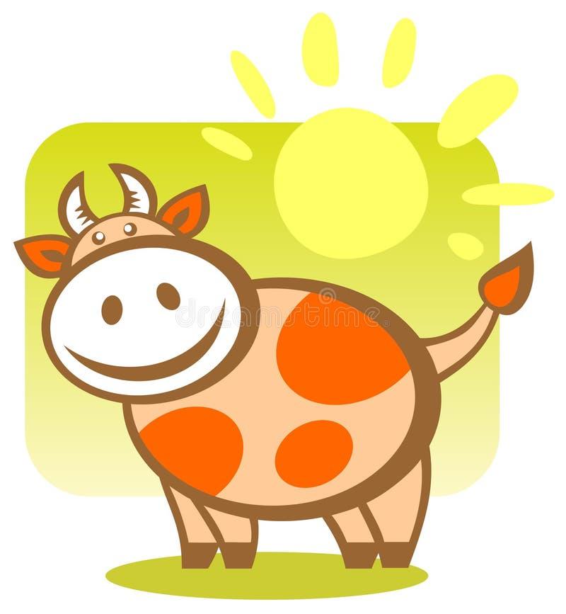 корова шаржа бесплатная иллюстрация