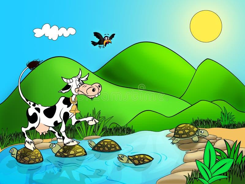 корова бесплатная иллюстрация