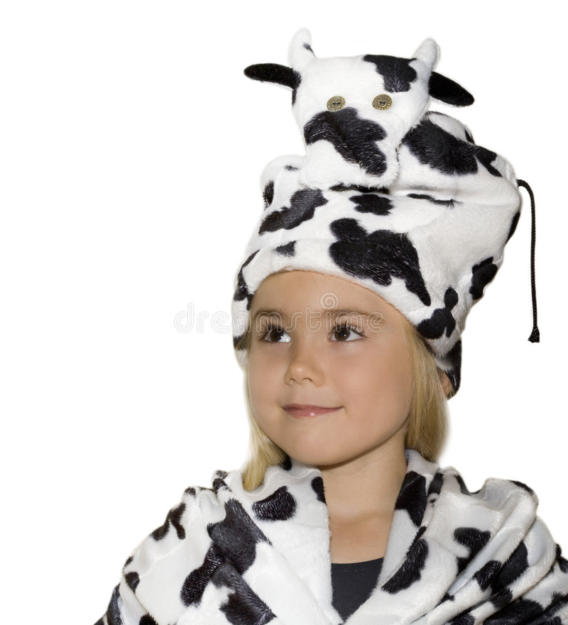 корова costume стоковая фотография rf
