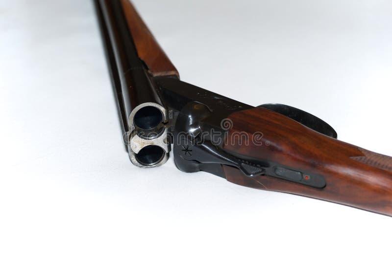корокоствольное оружие бочонка двойное стоковая фотография
