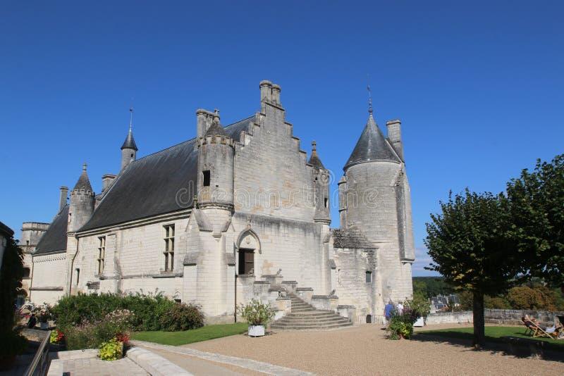 Королевская ложа в Loches стоковые изображения rf