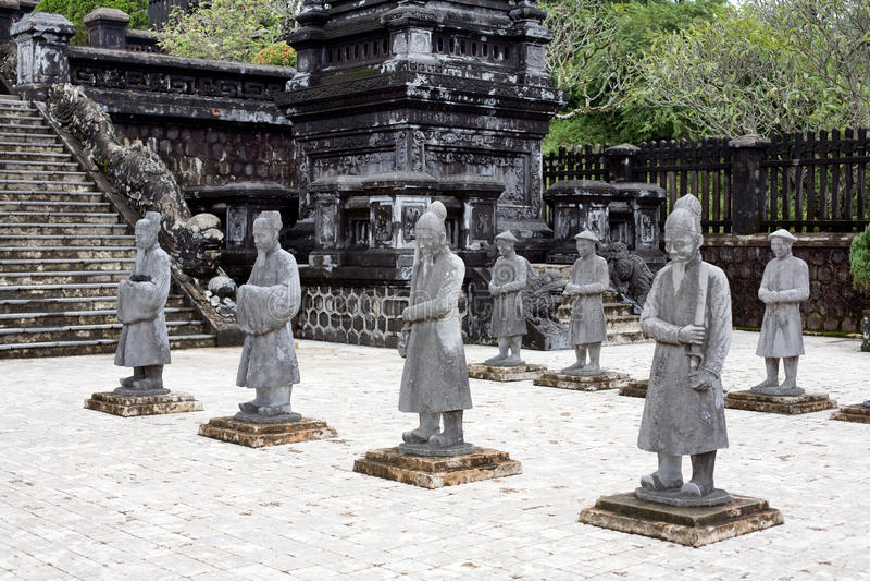 королевская усыпальница Вьетнам стоковое фото