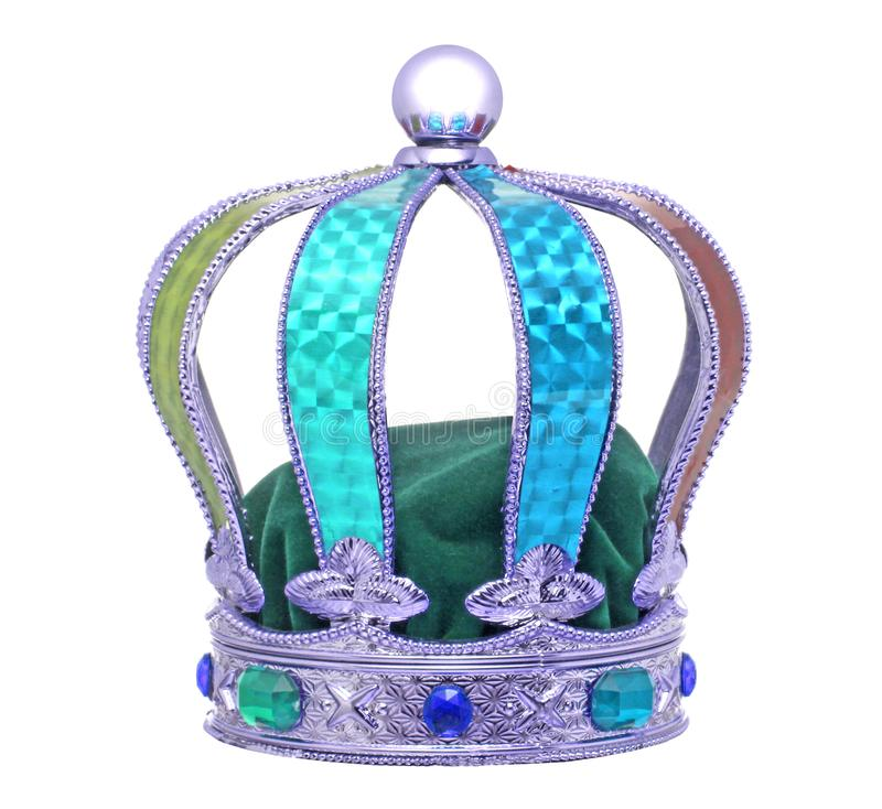 Королевская церемониальная красочная крона стоковое изображение rf