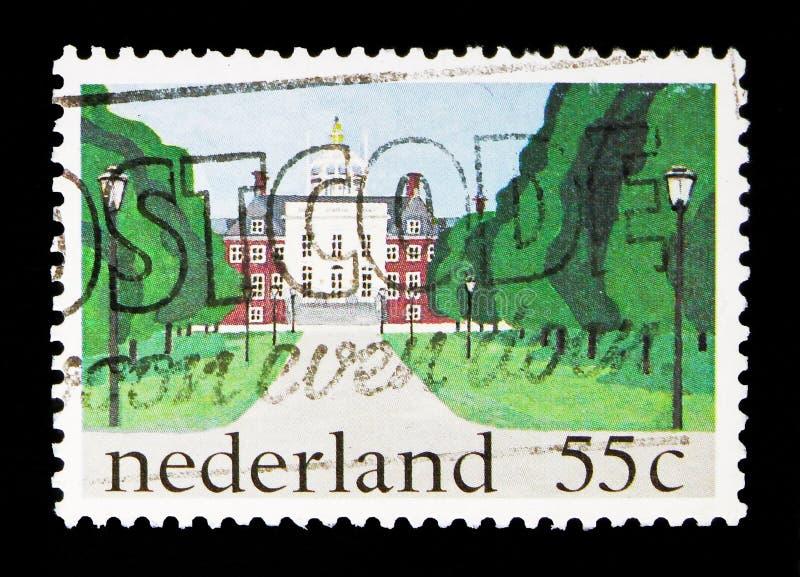 Королевские дворцы \ «Huis 10 Bosch \», Гаага, serie, около 1981 стоковое фото