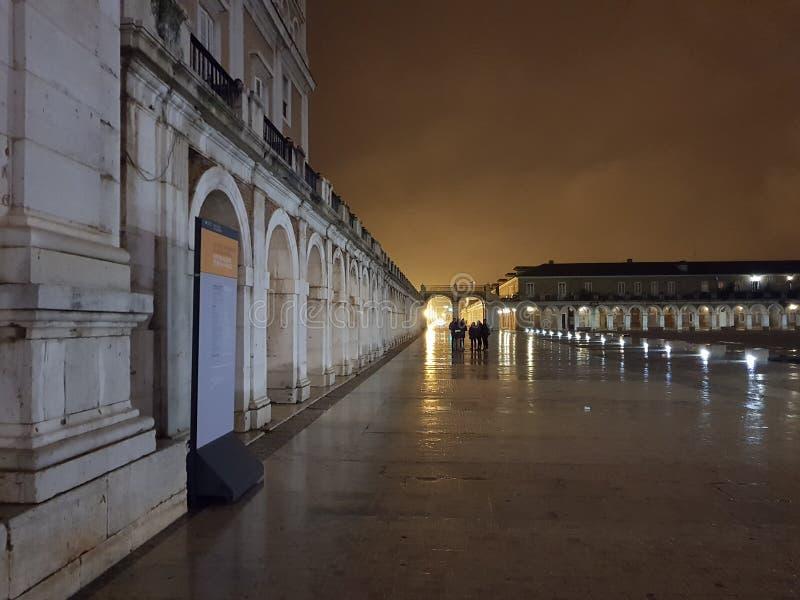 Королевский дворец Аранхуэс стоковые фото