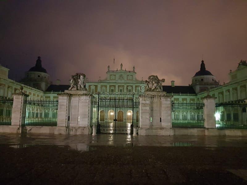 Королевский дворец Аранхуэс стоковое фото rf