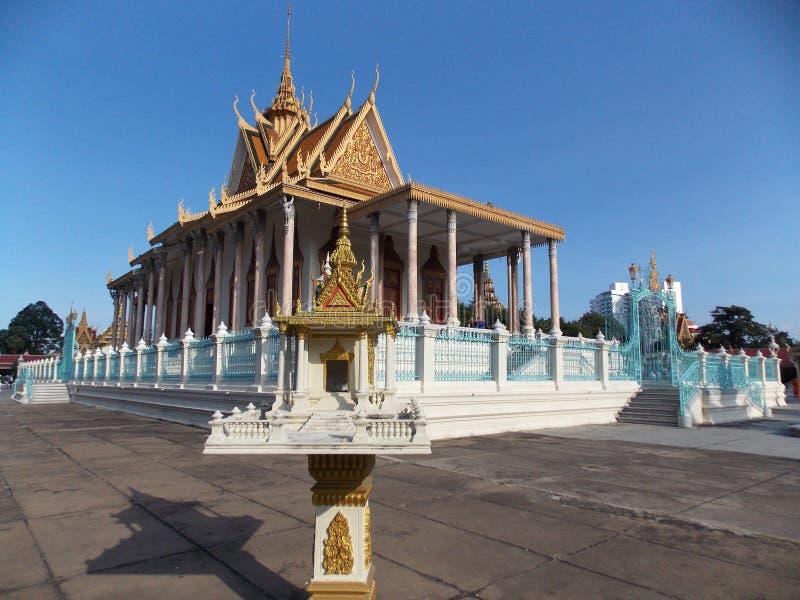 Королевский дворец, Камбоджа стоковые изображения rf