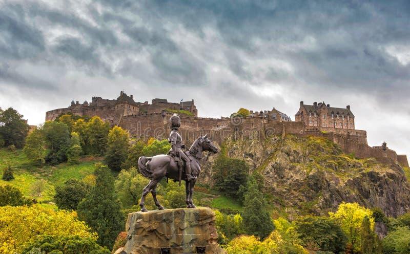 королевство соединенная Шотландия edinburgh замока стоковое изображение