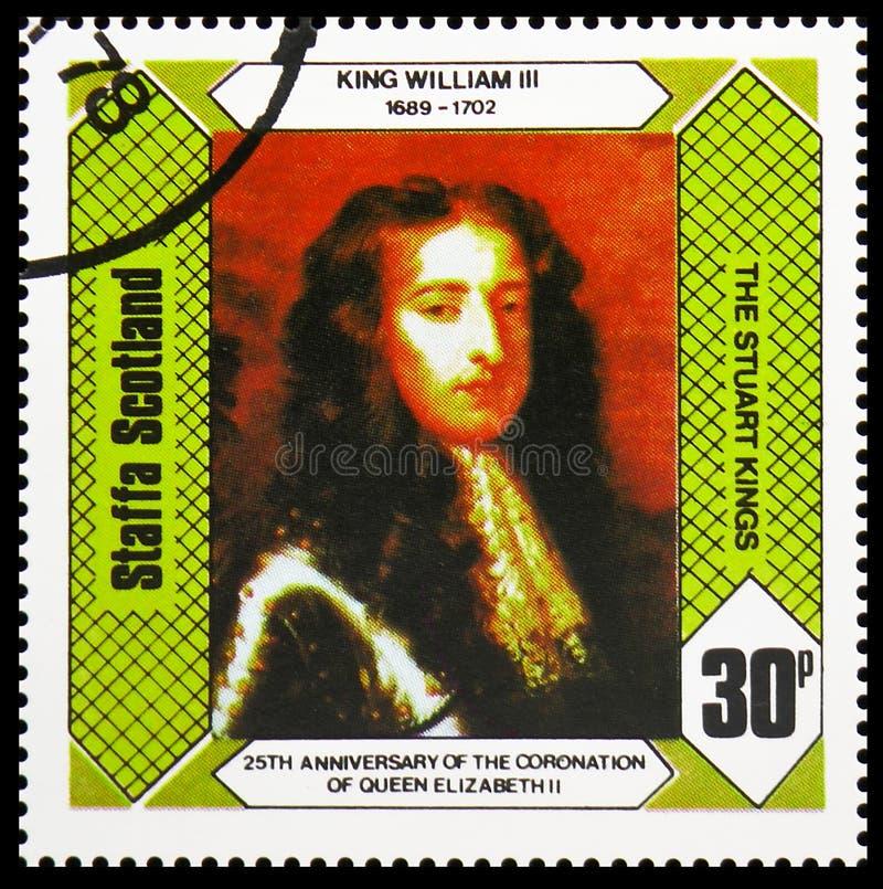 Короли Stuart, 25th годовщина коронования ферзя Элизабет II, serie Staffa Шотландии, около 1978 стоковое изображение rf
