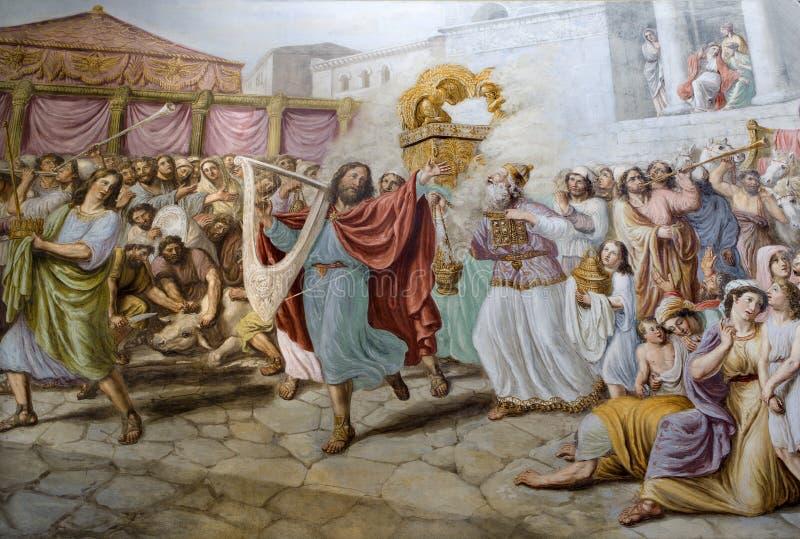 король Давида florence танцульки стоковое изображение rf