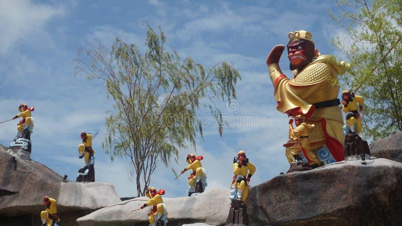 Король обезьяны стоковые изображения rf