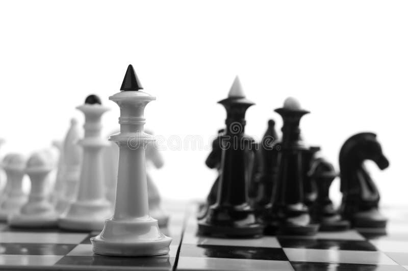 Король шахмат стоковое изображение