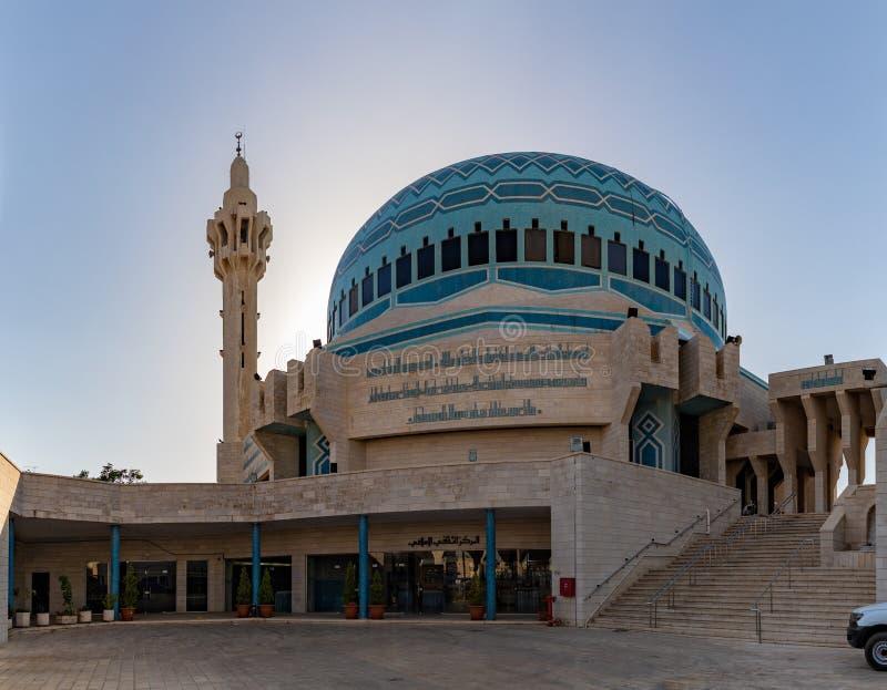 Король Abdullah Я Мечеть VIII стоковые фотографии rf