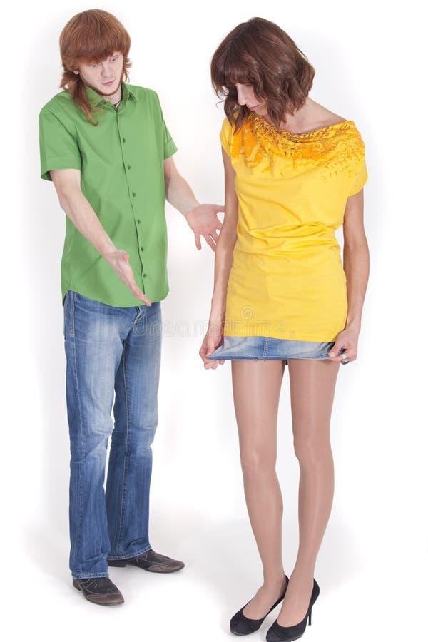 короткая юбка стоковое фото rf