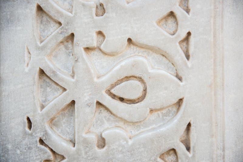 Королевская архитектура на стене стоковое фото rf
