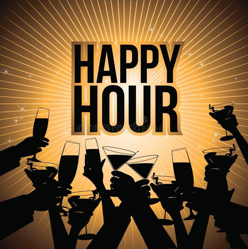 Королевская власть предпосылки пива счастливого часа освобождает иллюстрацию бесплатная иллюстрация
