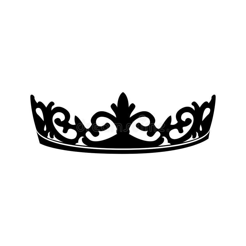 Королевская крона иллюстрация штока