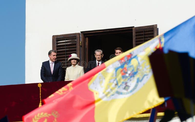 Королевская семья Румынии стоковые фото