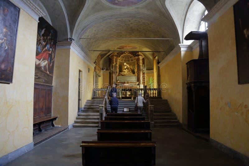 Королевская церковь San Lorenzo, Турина, Италии стоковые изображения