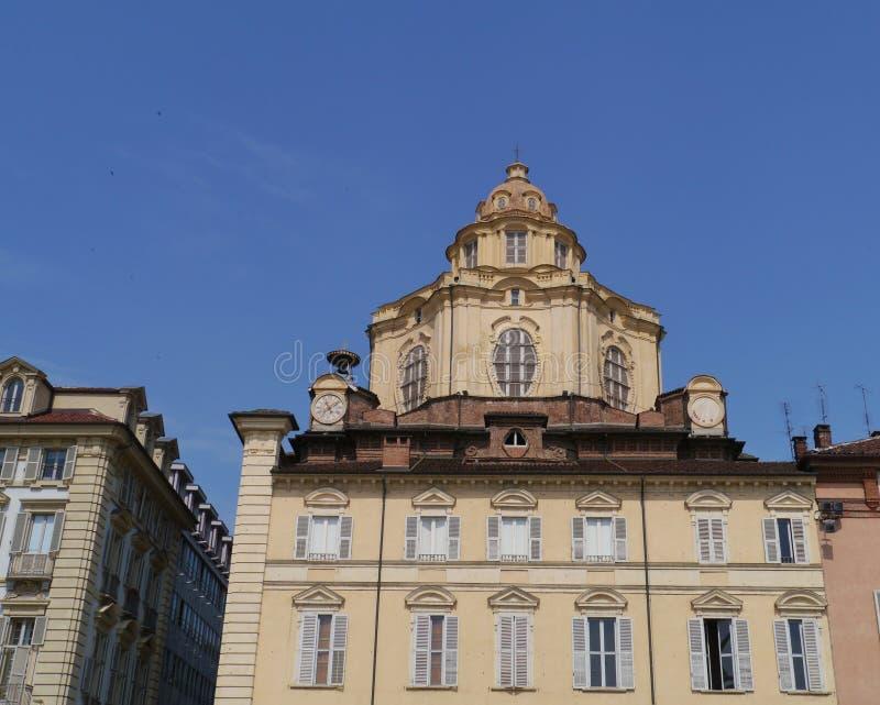 Королевская церковь San Lorenzo стоковые фото
