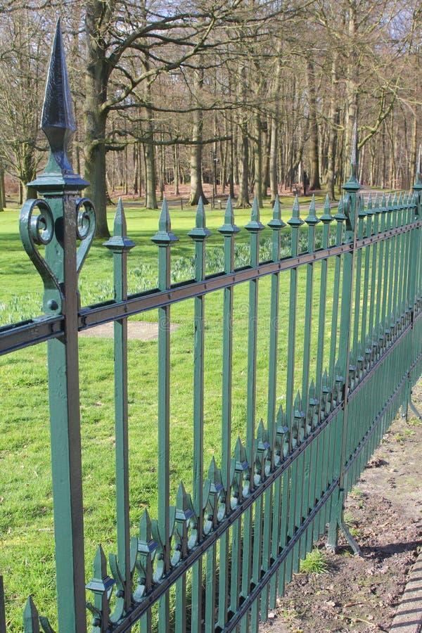 Королевская чугунная загородка стоковое фото rf