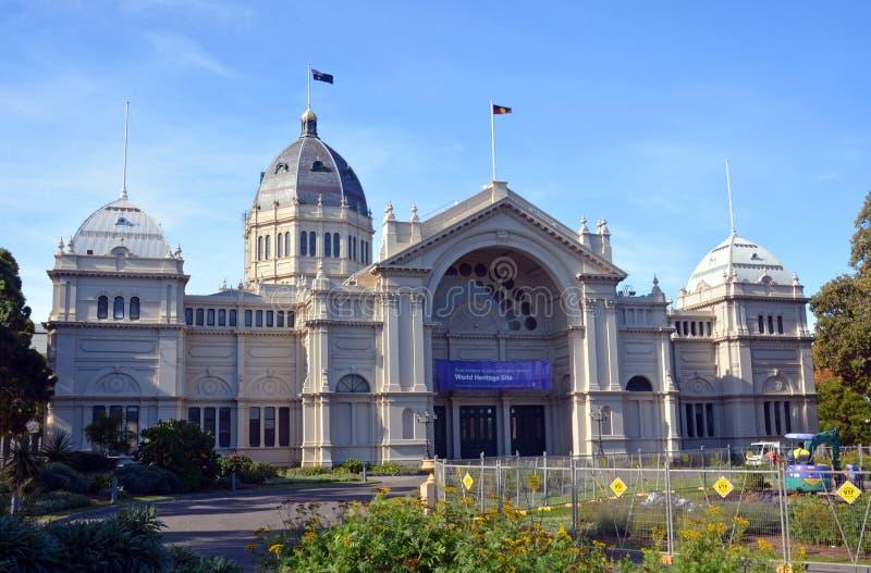 Королевские здание выставки и сады Carlton всемирное наследие s стоковое фото rf