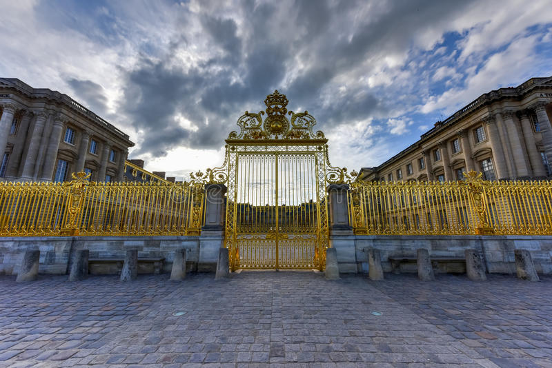 Королевские стробы дворца Версаль стоковое фото
