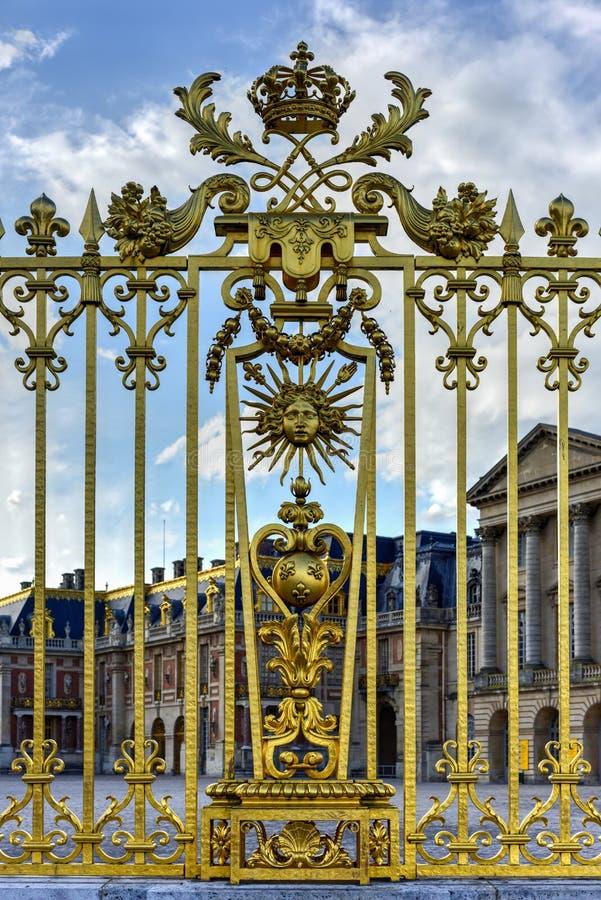 Королевские стробы дворца Версаль стоковое изображение rf