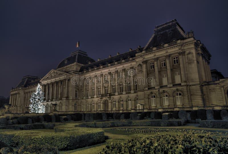 Королевский дворец Бельгии стоковое фото rf