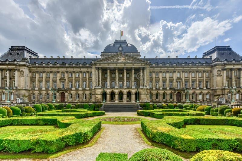 Королевский дворец Брюсселя стоковая фотография