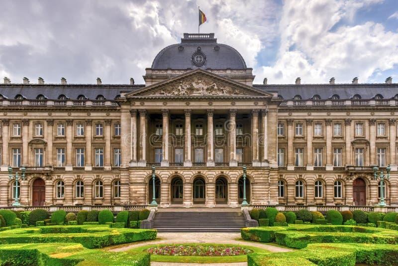 Королевский дворец Брюсселя стоковое фото