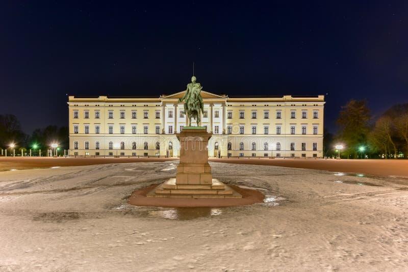 Королевский дворец Осло стоковая фотография rf