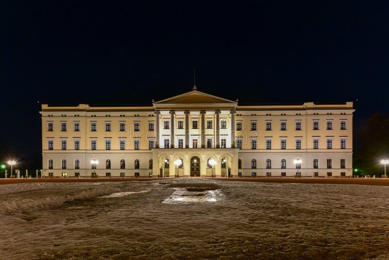 Королевский дворец Осло стоковые фото