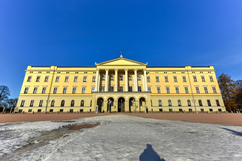 Королевский дворец Осло стоковые фотографии rf