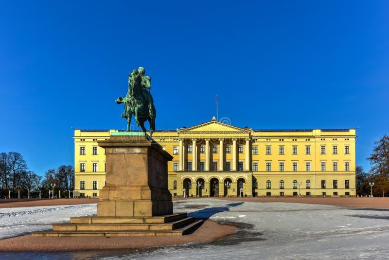 Королевский дворец Осло стоковое изображение rf