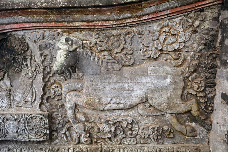 Королевский дворец, Klungkung, Бали, Индонезия стоковое изображение