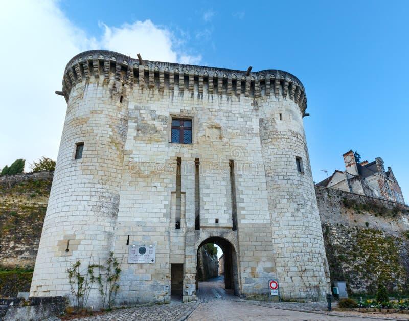 Королевский город Loches (Франция) стоковое изображение