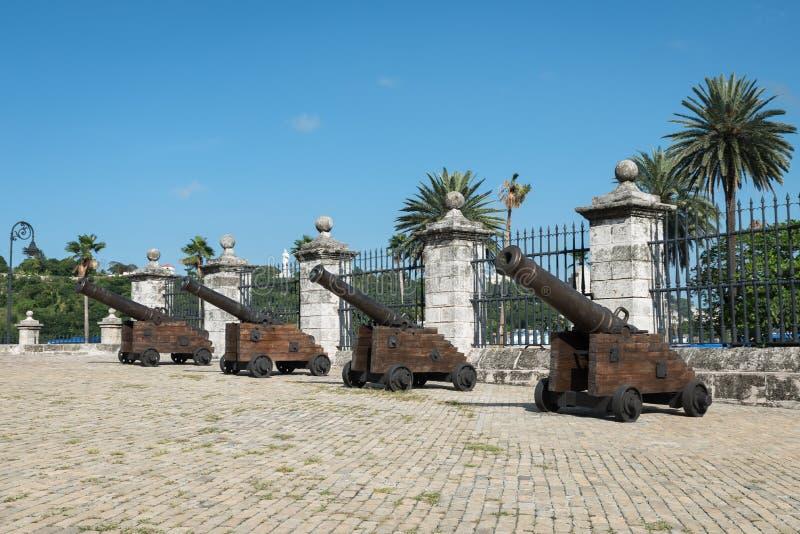 Королевский замок силы в Гаване Кубе стоковое фото rf
