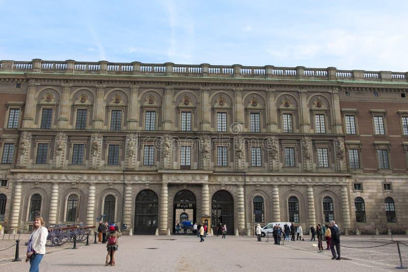 Королевский замок Стокгольм стоковое фото rf