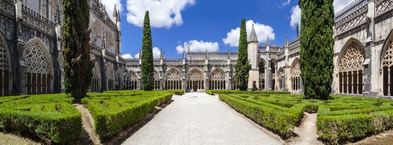 Королевский монастырь монастыря Batalha стоковые фотографии rf