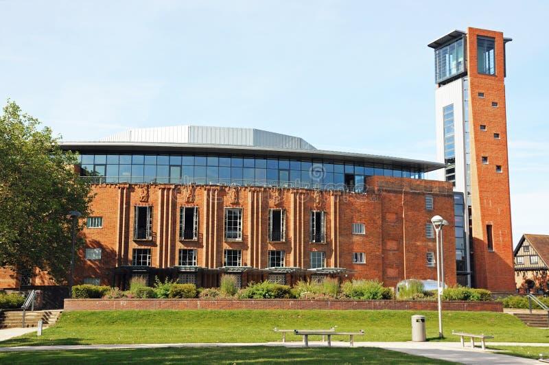 Королевский театр Шекспир, Стратфорд-на-Эвон стоковое фото
