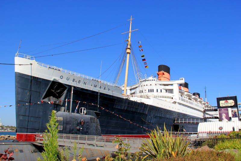 Королевский ферзь Mary корабля почты (RMS) стоковое фото