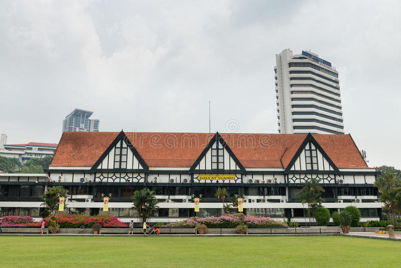 Королевское клуб Selangor в Куалае-Лумпур стоковое изображение rf