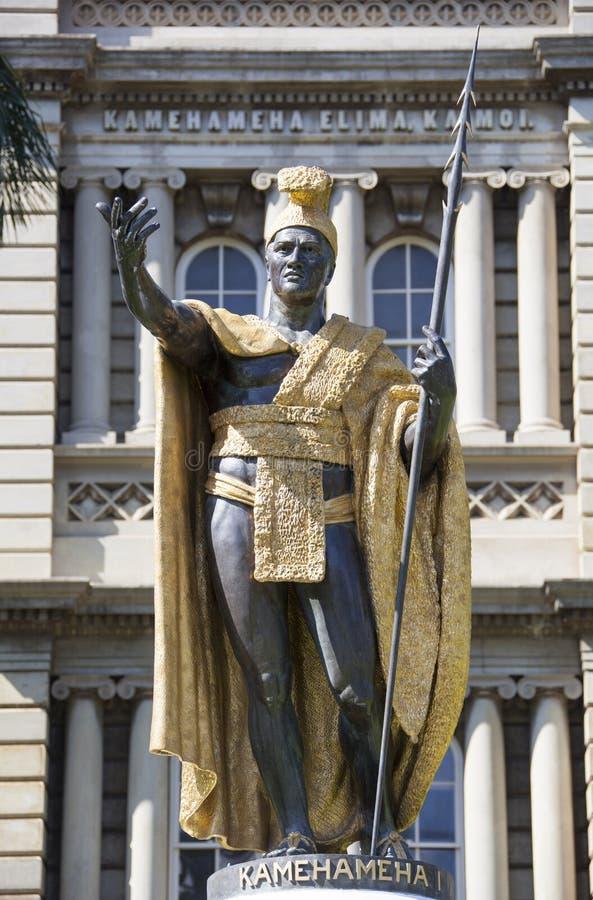 Король Гаваи стоковые изображения