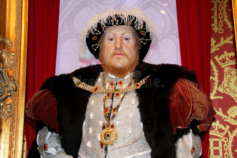 король генриа Англии VIII стоковые фотографии rf