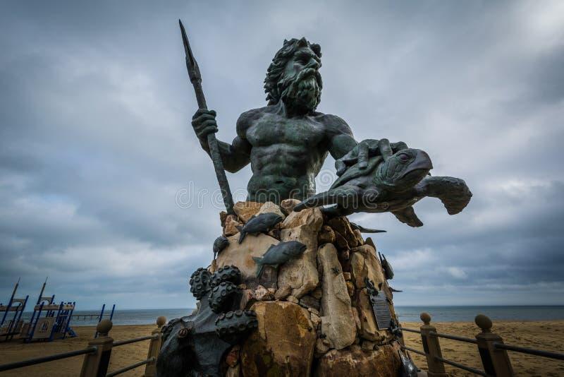 Download Король Нептун Статуя в Virginia Beach, Вирджинии Редакционное Изображение - изображение насчитывающей пейзаж, ландшафт: 81800655