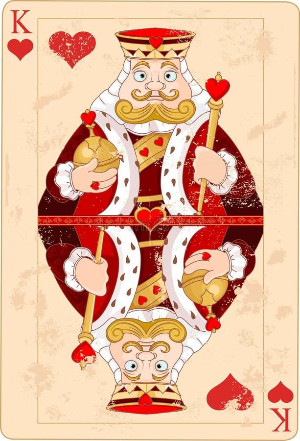 Король сердец бесплатная иллюстрация