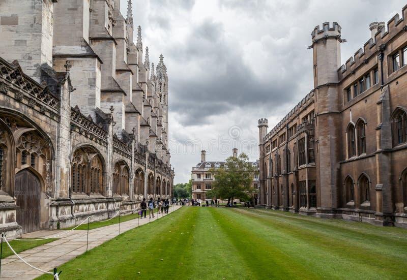 Короля Коллеж Часовня Кембридж Англия стоковая фотография