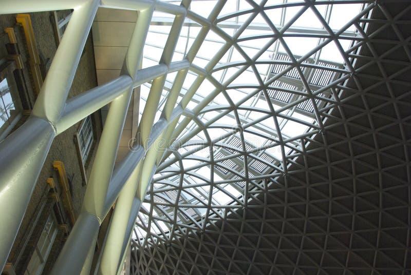 Короля Крест Станция, Лондон стоковое фото rf